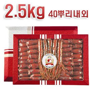 홍백련홍삼정과 2.5kg